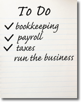 The Bookkeepers bookkeeping, payroll and taxes, todo list